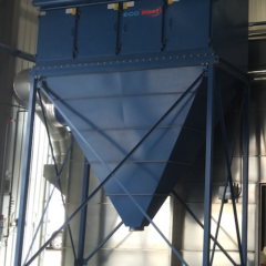 dust collector with blast booth
