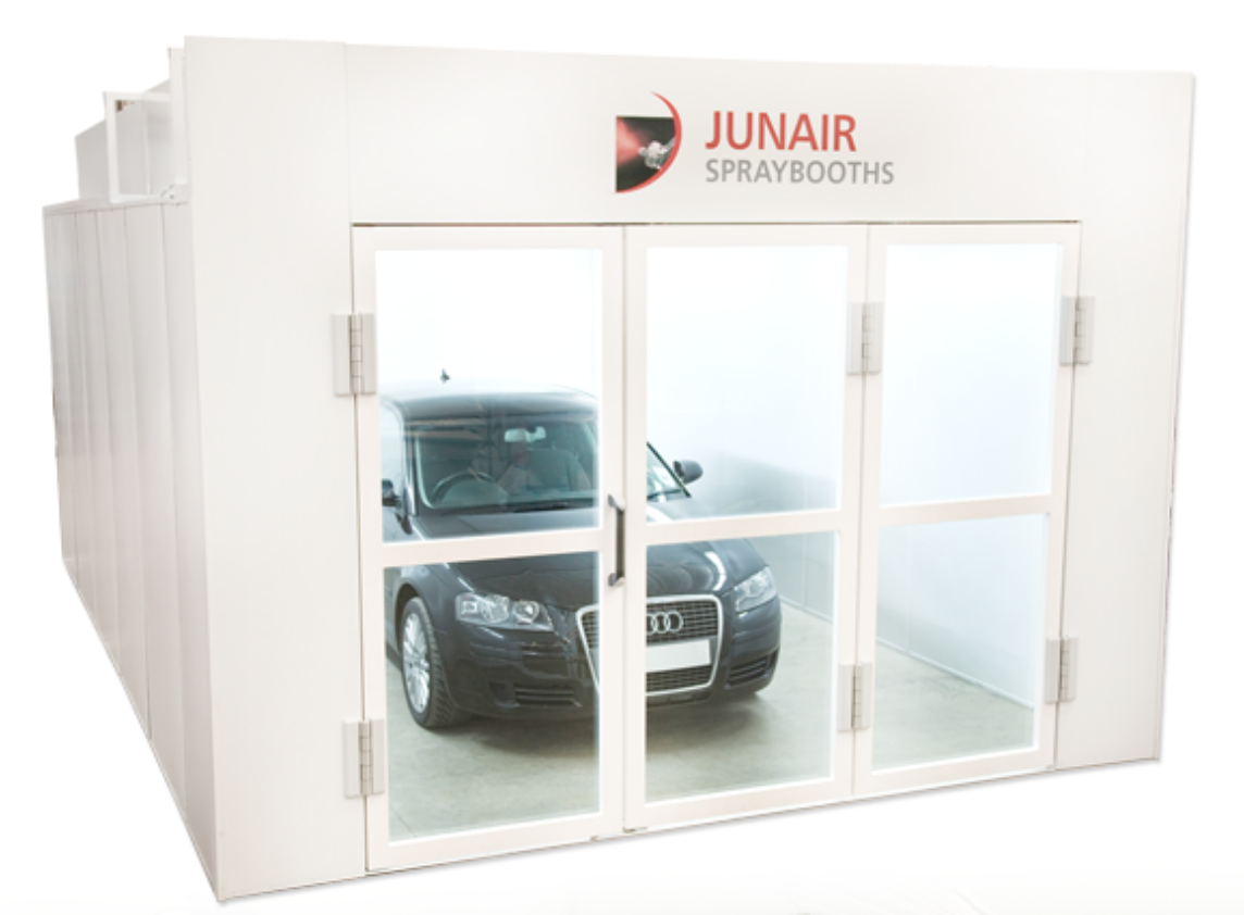junair series 5 spray booth