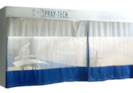 prep stations for spray booths