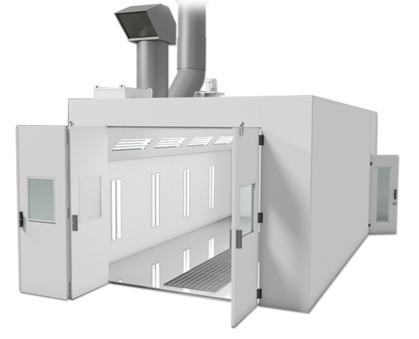 spray tech thermaire series spray booth