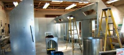 spray booth installers