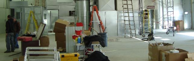 spray booth repairs and services